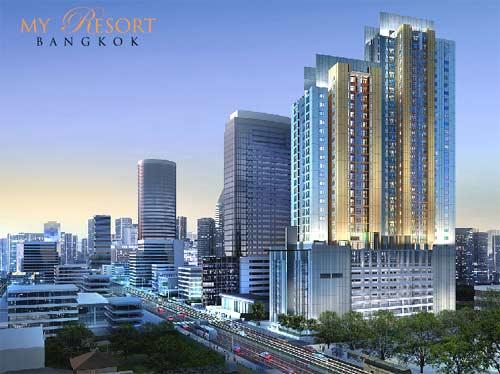 My Resort Bangkok Condo For Rent 20,000 baht/month