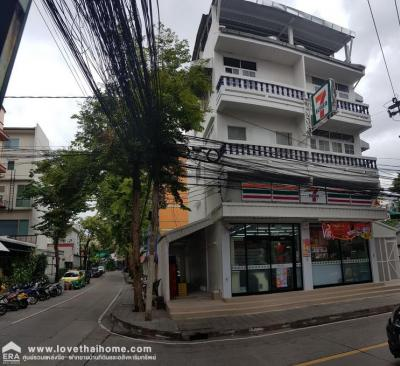 For SaleShophouseBang Sue, Wong Sawang : Sell 3 storey commercial building, Pracha Songkhro Road 23 Area 49.3 Sq. It is a building behind the corner. Now is a 7-Eleven near the University of the Chamber of Commerce, Surasak Montri School