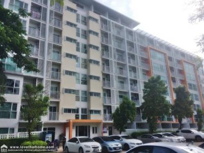 For SaleCondoThaphra, Wutthakat : Condo for sale Metro Park Sathorn 3-2, Kanlapapruek road, area 31.42 sq m. On the 3rd floor, ready to move in, fully furnished, near the train, near the subway, near the expressway