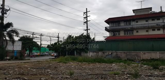 For SaleLandRatchadapisek, Huaikwang, Suttisan : Land for sale 278 sq.w. on the main road, 4 lanes, Ratchada, Huai Khwang, Prachauthit, Mengjai, Raminthra