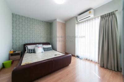 For SaleCondoRattanathibet, Sanambinna : Condo Supalai Park Khaerai-Ngamwongwan Rattanathibet, 2 bedrooms, north, corner room, very new condition, near MRT Nonthaburi Government Center Station