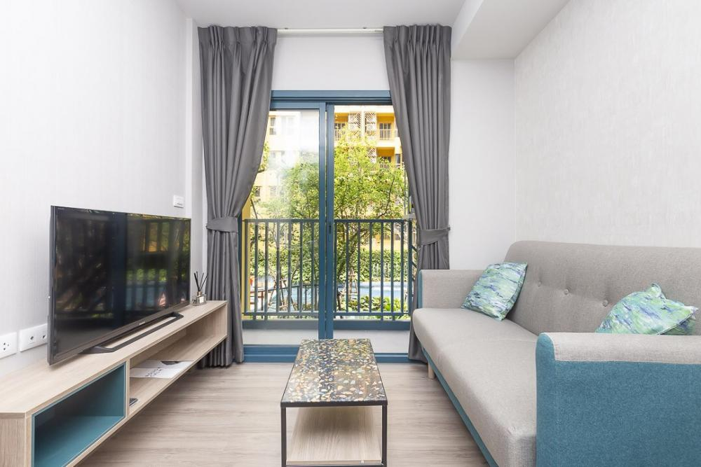 For SaleCondoOnnut, Udomsuk : For Sell, 1 BR size 32 sq.m., garden view, pool view 4,190,000 THB