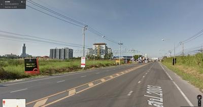 For SaleLandBangna, Lasalle, Bearing : Bang Na Land, Kilometer 26, near Assumption University, Bangna (ABAC), 2 rai, 23 million baht