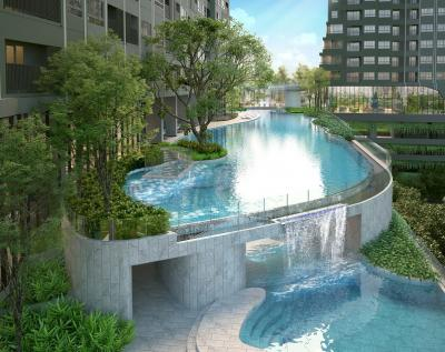 For SaleCondoThaphra, Wutthakat : {{Loss Sale Elio Sathorn-Wutthakat}} 450 meters from BTS Wutthakat, Building A, 30th floor, 1 bedroom size 31.14 sq.m., room plan in proportion, Fully Furnished !!! ***