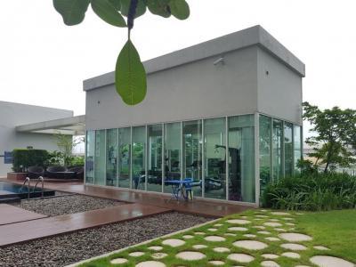 ขายคอนโดรัตนาธิเบศร์ สนามบินน้ำ พระนั่งเกล้า : ขาย Aspire Ratthanatibet 1 ชั้น 24 ห้องวิวสระ
