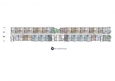 ขายคอนโดสำโรง สมุทรปราการ : ขายดาวน์ ศุภาลัย เวอเรนด้า สุขุมวิท117 ชั้น 9 28.5 ตรม. และ 29 ตรม