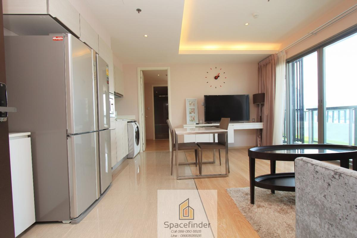For RentCondoSukhumvit, Asoke, Thonglor : H43 Condo Unit for rent 1 Bedroom with private sky garden
