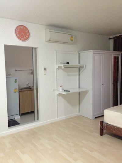 ขายคอนโดเสรีไทย-นิด้า : 2064 ขาย Dcondo ดีคอนโด รามคำแหง64 ห้องสตูดิโอ ตกแต่งเฟอร์ครบ พร้อมอยู่ SALE Dcondo Ram64 fully furnished