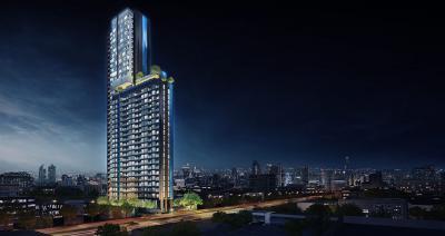 เช่าคอนโดพระราม 9 เพชรบุรีตัดใหม่ : The Line Asoke Ratchada Unit for rent 1 Bedroom / New Unit / Ready to move in