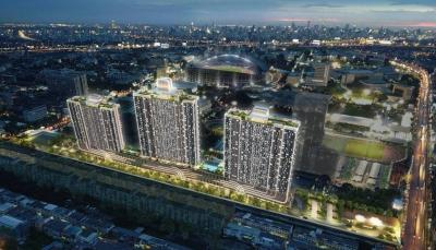 For SaleCondoRamkhamhaeng, Hua Mak : Condo sales down, Building C Supalai Veranda Ramkhamhaeng Supalai Veranda Ramkhamhaeng Condo