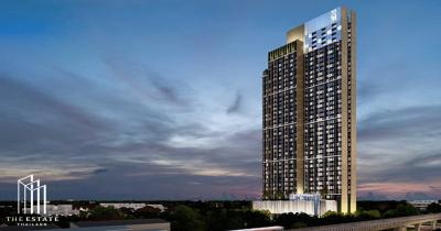 For SaleCondoOnnut, Udomsuk : Condo for SALE *** Whizdom Connect *** Rare item !!! High floor 20+, good corner, full city view @4.89 MB All in