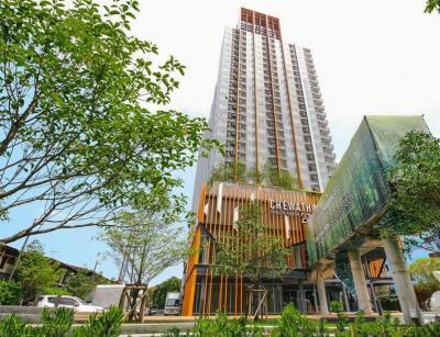 For RentCondoBang kae, Phetkasem : Condo Chewathai Phetkasem 27 (23-43 sq.m/High floor) @BTS Bang Wa, Pool View, Fully furnished