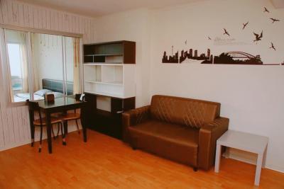 For RentCondoRamkhamhaeng, Hua Mak : For rent, Condo Lumpini Ramkhamhaeng 44 1. 37 sqm. Floor 11, Building B 9,000 Baht