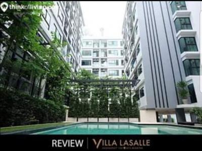 ขาย Villa Lasalle ชั้น 5, 25.43 ตร.ม., 1bed, เฟอร์ครบ