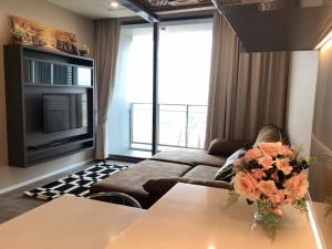 For SaleCondoBang Sue, Wong Sawang : Sale with tenant, 333 Riverside condo, river view room, north, not hot sun, near the river, in the position of 1 bedroom 47 sqm.
