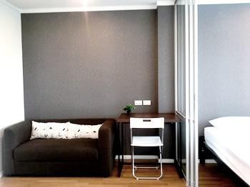 เช่าคอนโดพระราม 9 เพชรบุรีตัดใหม่ : ให้เช่า LPN Park พระราม 9 26ตรม ห้องทิศตะวันออก สงบ อยู่สบาย /For rent LPN Park Ratchada Rama9 8500/m
