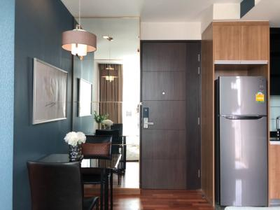 For RentCondoRatchathewi,Phayathai : For rent FOR RENT 1 Bedroom 33 SQM, South Room, City view, 21st, 26th floor, 2 rooms, AGENT WELCOME