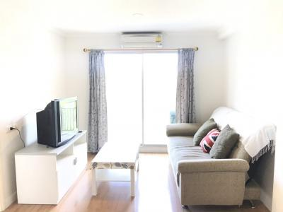 For SaleCondoRamkhamhaeng, Hua Mak : Condo for sale, Lumpini Ville Ramkhamhaeng 26 1, size 39 sqm, Building A, Floor 4, fully furnished, electric