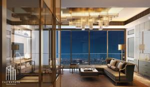 Condo for SALE *** Magnolias Waterfront Residences ICONSIAM ห้องอยู่ชั้น 40+ 2 ห้องนอน ขนาดใหญ่ โครงการระดับ Luxury @29.48 MB