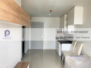 For SaleCondoBang Sue, Wong Sawang, Tao Pun : Condo for sale Rich Park @ Taopoon Interchange Near Tao Poon Station, only 60 meters, 30 sqm, 1 bedroom, high floor, river view, new room, never lived, 2.69 million