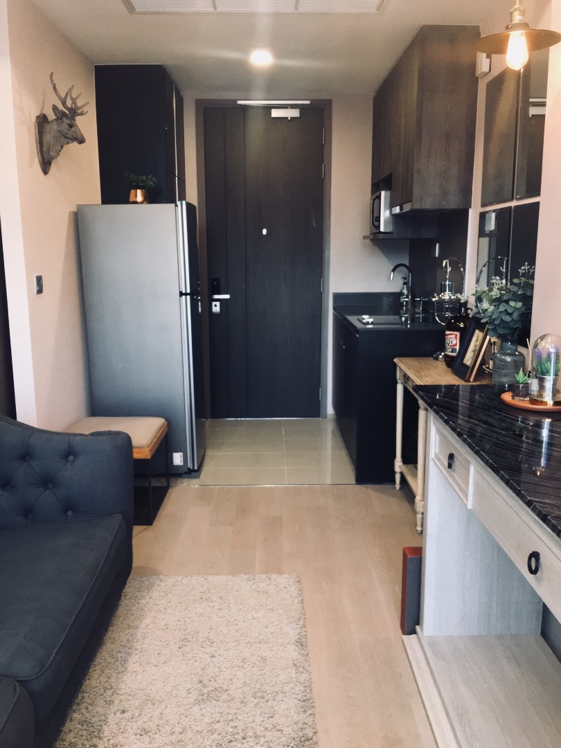 For RentCondoSiam Paragon ,Chulalongkorn,Samyan : [For rent or sale] Ashton Chula-Silom condo, size 32 sq.m., well decorated room, open view, have electrical appliances ready.