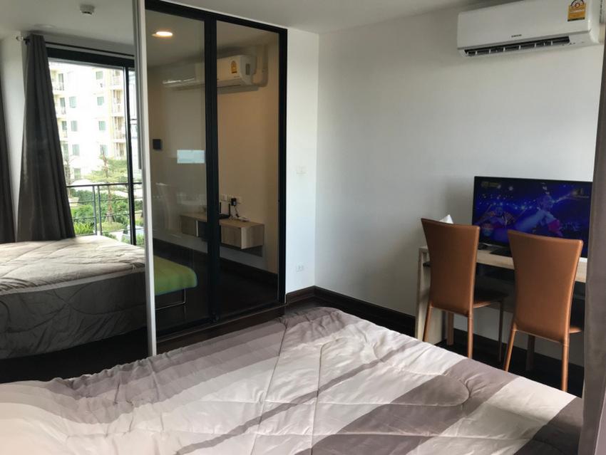 For SaleCondoWongwianyai, Charoennakor : Condo Bangkok Feliz Sathorn-Taksin @BTS Krung Thon Buri, 29.6 sq.m 1Bed 8th floor Facing East, Fully furnished