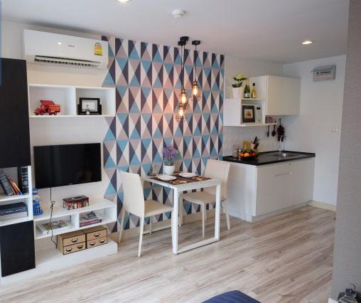 For RentCondoRama5, Ratchapruek, Bangkruai : AA61-0047 Rent Sammakorn S nine, size 25 square meters, fully furnished
