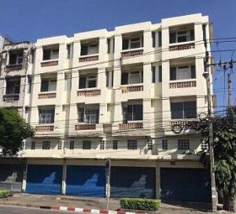 For SaleShophouseLadkrabang, Suwannaphum Airport : Selling 4 commercial buildings, 4.5 floors, Soi Chaloem Phra Kiat Prawet