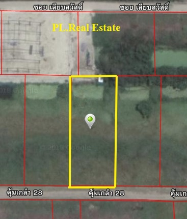 For SaleLandLadkrabang, Suwannaphum Airport : Land for sale in an area of 1 rai, then filled in Soi Khum Klao 28, near Ladkrabang Industrial Estate.