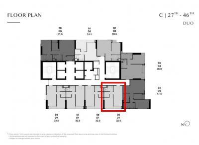 For SaleCondoSukhumvit, Asoke, Thonglor : Park ทองหล่อ C4305 ห้อง Duo ราคารอบ VIP ถูกกว่าราคาปัจจุบันกว่า 1 ล้านบาท  เพียง 9.65 ล้านบาท