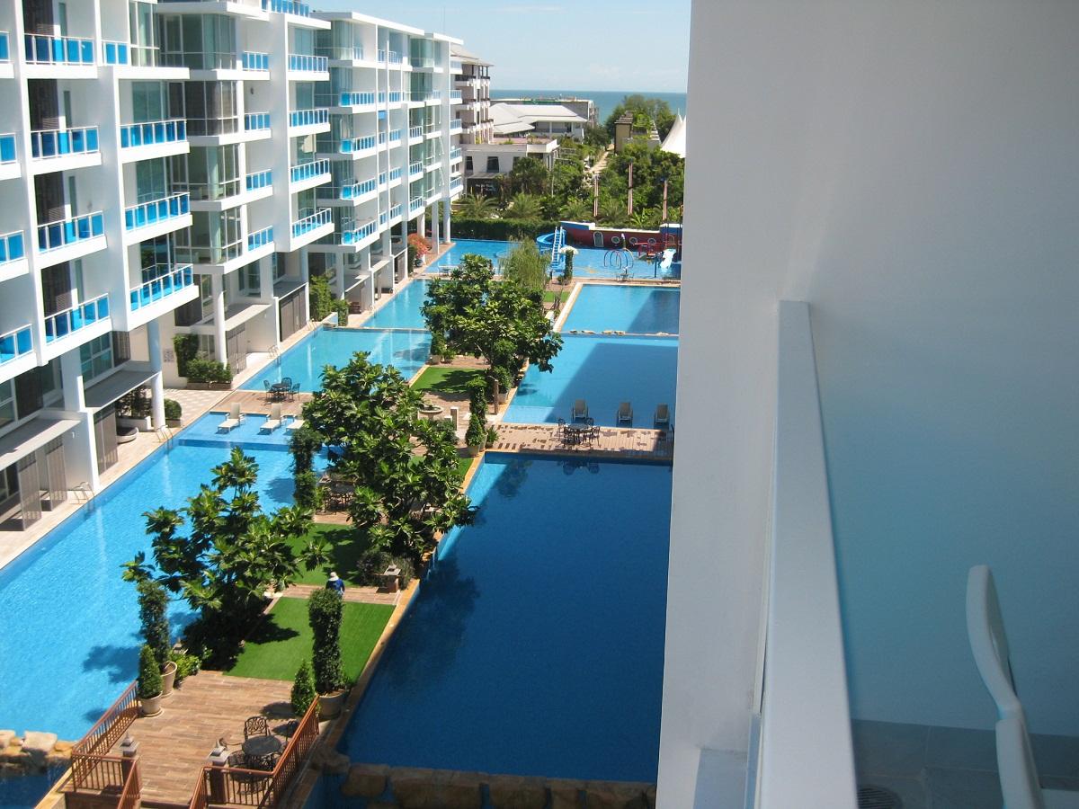 ขายถูกมาก My Resort HuaHin 2BR Pool/Sea View, fully furnished
