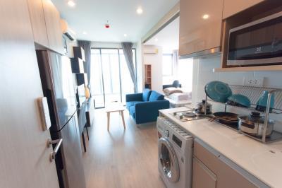 เช่าคอนโดสยาม จุฬา สามย่าน : (Owner Post) For Rent: Ideo Q Chula 34 sqm, 25th floor, 1 bed, unblocked view.