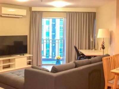 ให้เช่า คอนโด bell grand rama9 ขนาด96 ตรม 2ห้องนอน 2ห้องน้ำ อาคาร a1  ราคา 48,000/เดือน โทร 093-028-1245