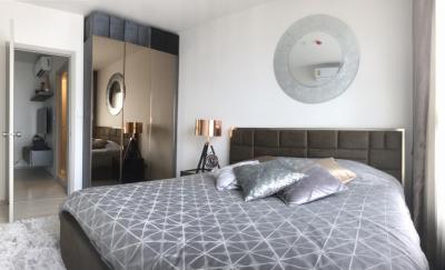 For RentCondoOnnut, Udomsuk : New Condo Life Sukhumvit 48 @BTS Phra Khanong 1-2 Bedrooms High floor Nice View, Fully furnished, Plenty units available to choose