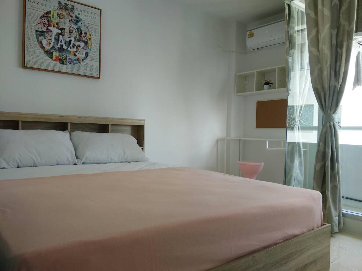 For SaleCondoLadprao101, The Mall Bang Kapi : Room is out of booking !!! Condo City Villa, City villa, Ladprao 130, ready to move in