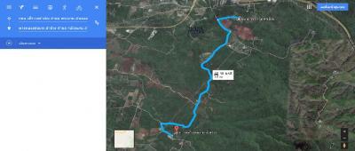 For SaleLandChiang Mai, Chiang Rai : Land for sale on Phra Bat Mountain, Lampang District, 22-2-32 Rai, on the hills, see Lampang 600,000 per rai