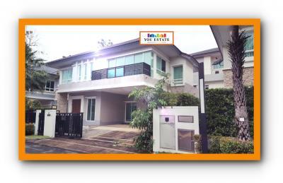 ขายบ้านพัฒนาการ ศรีนครินทร์ : ขาย แกรนด์ บางกอก บูเลอวาร์ด พระราม 9-ศรีนครินทร์ 64.5 ตรว 3 นอน เขตสพานสูง Grand Bangkok Boulevard Rama 9-Srinakarin