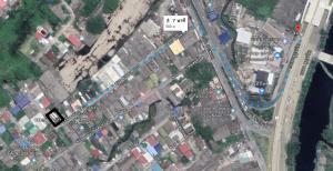 For SaleLandSamrong, Samut Prakan : Land for sale, near BTS Sai Road, Soi 10, Pak Nam, Samut Prakan, size 118 sq.m., corner plot, adjacent to the road on both sides, width 32 m., 25 m.