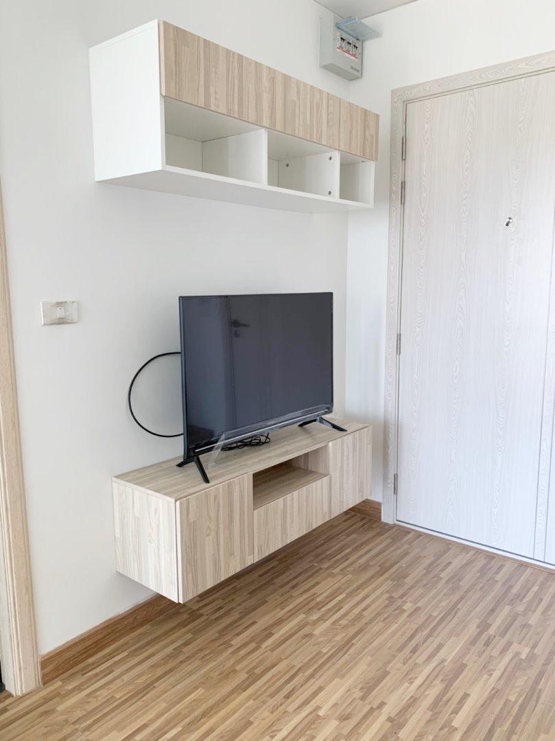For RentCondoBangbuathong, Sainoi : AA61- 0050 Condo for rent, The IRIS Bangyai, THE IRIS BANGYAI, decorated with new furniture.