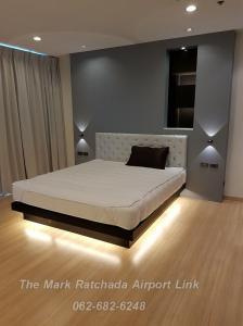 #มีอ่างอาบน้ำ 2 นอน 100 ตรม.  Asoke อโศก รัชดา   the Mark Ratchada Airport link