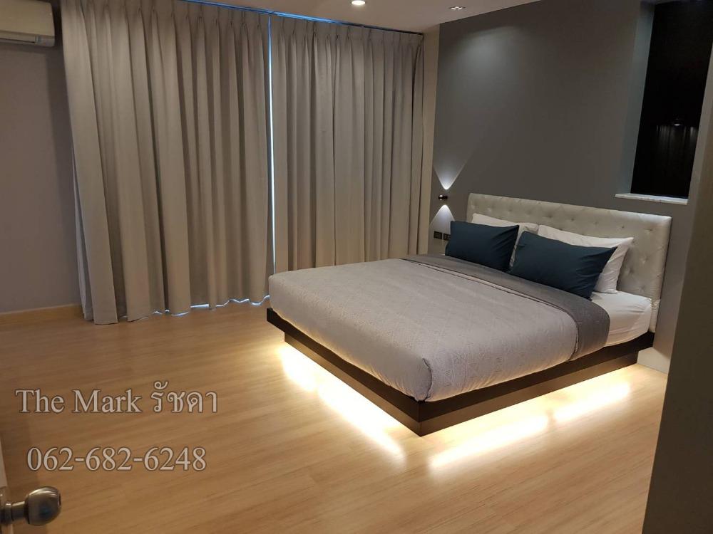 For RentCondoRama9, RCA, Petchaburi : 102 ตรม.2 นอน ชั้นสูง มีอ่างอาบน้ำ  the Mark Ratchada Airport link ใกล้ Asoke อโศก รัชดา