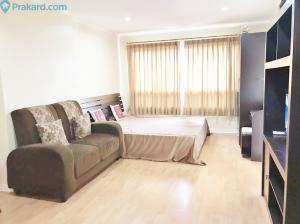 For RentCondoRamkhamhaeng, Hua Mak : Condo for rent, Lumpini Ville Ramkhamhaeng 44, size 30 sqm, 12th floor, fully furnished, electricity 7,800 baht