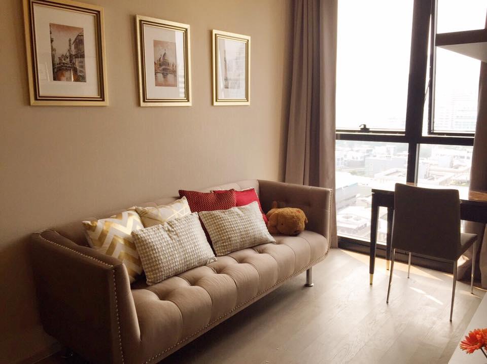 For RentCondoSukhumvit, Asoke, Thonglor : For Rent Ashton Asoke 1 bedroom Floor 31 sqm
