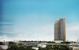 For SaleCondoOnnut, Udomsuk : Condo for SALE *** Whizdom Connect *** High Rise Condo, Flexi Room type, near BTS Punnawithi, convenient transportation @5.59 MB All in