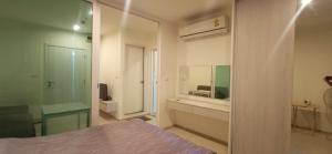 เช่าคอนโดสำโรง สมุทรปราการ : 💜ว้าว!! ห้องติด BTS เอราวัณ  , Aspire Erawan ห้องกว้าง วิวแม่น้ำ พร้อมย้ายเข้าอยู่💜