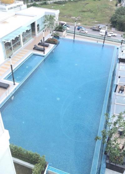 ให้เช่าคอนโด TC Green 1Bedroom 40 sqm 18,500 บาท วิวสระว่ายน้ำ ไม่บล็อกวิว ระเบียงนั่งเล่นได้ เฟอร์นิเจอร์ครบ วิวสวยมาก
