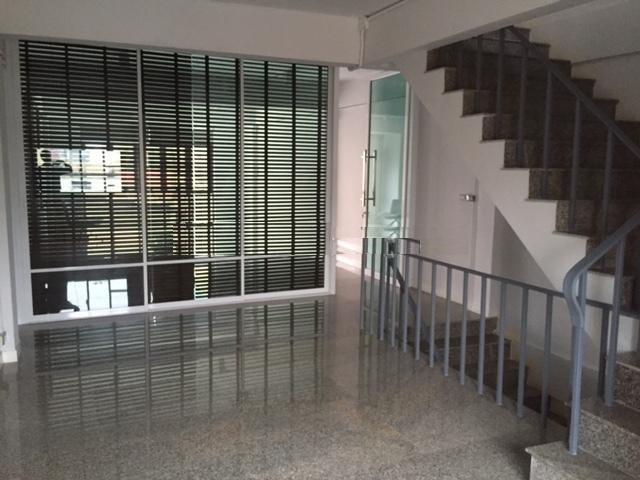 For RentHome OfficeRama3 (Riverside),Satupadit : 5-storey home office for rent, Sathorn area, loft style decoration, Soi Ngam Duplee, near MRT Lumpini