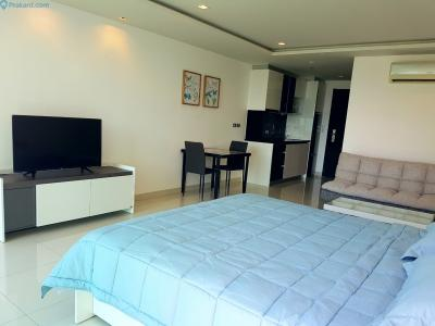 เช่าคอนโดพัทยา ชลบุรี : ปล่อยเช่าคอนโด โครงการวงศ์อมาตย์ ทาวเวอร์ พื้นที่ 43 ตรม. พร้อมอยู่ - [For Rent] WongAmat Tower Condominium Pattaya