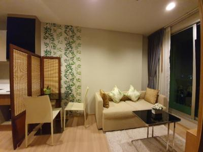 For SaleCondoSathorn, Narathiwat : Rhythm Sathorn 1 bedroom, 35 sq.m. floor 35 th, very beautiful supreme view & room