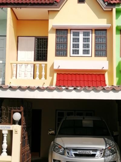 For RentTownhouseBang kae, Phetkasem : New townhouse for rent, 2 floors, 2 bedrooms, 2 bathrooms, near Bang Khae market. Contact 094-4599024